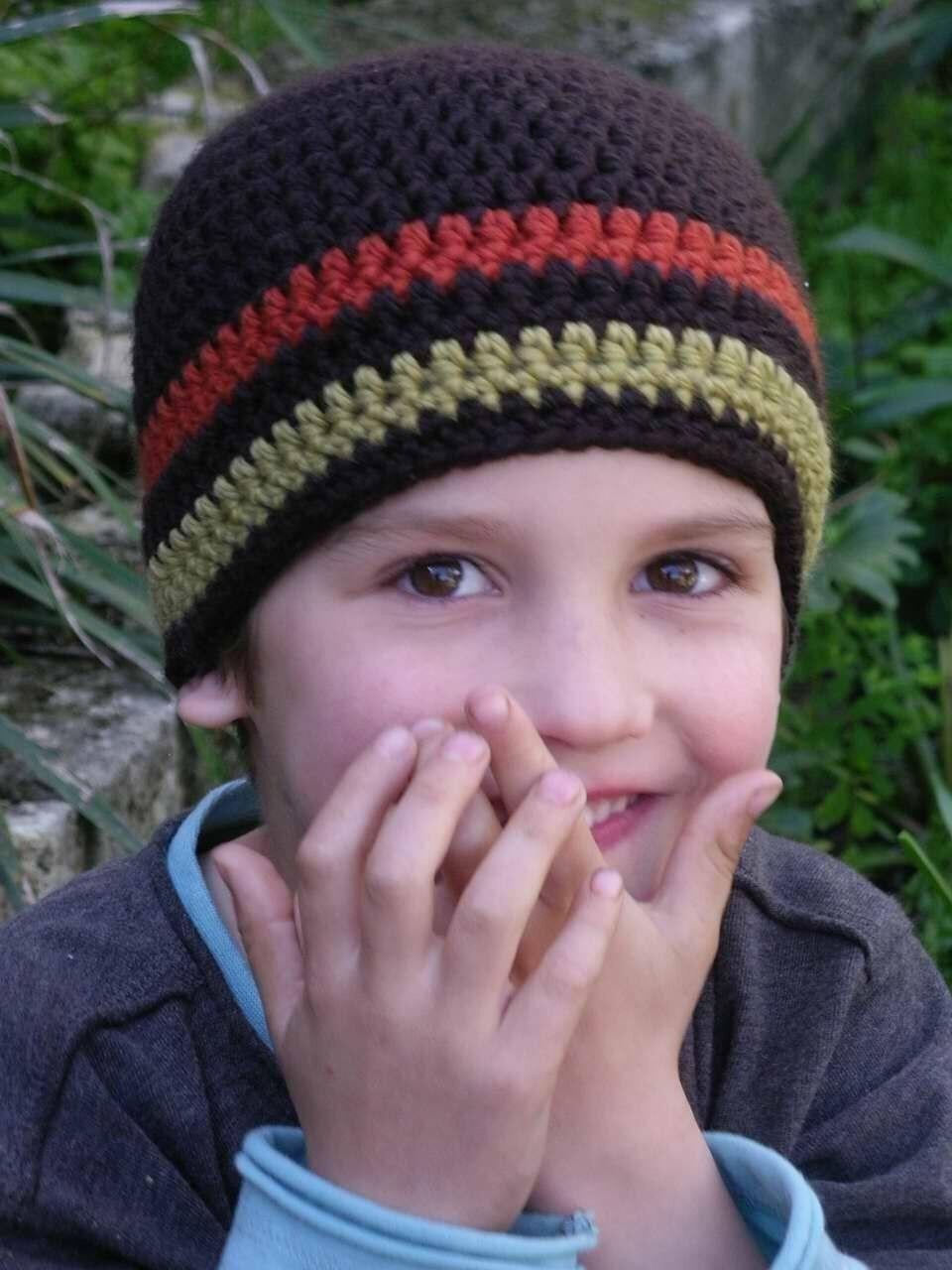 Crochet Hat Pattern Boys Easy Peasy Chunky By Bubnutpatterns