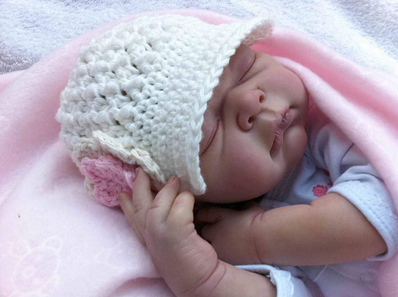 Newsboy baby hat crochet pattern crochet pattern in newborn zoom bankloansurffo Image collections
