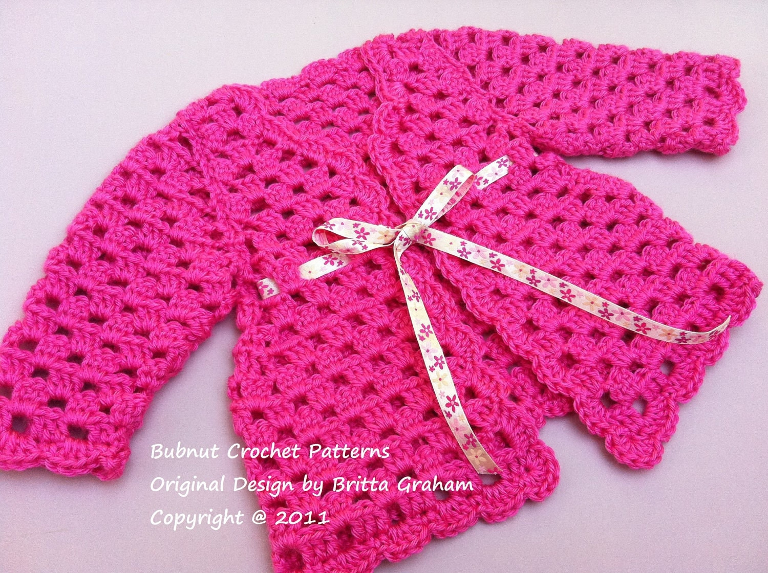 Crochet baby cardigan pattern sweater crochet pattern no905 zoom bankloansurffo Choice Image