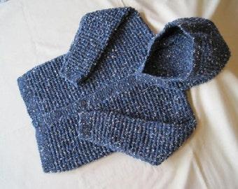 Blue winter hoodie