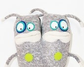 Conjoined Twins, Sock Monsters, ROODY and TERK