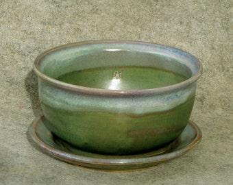 Mother's day Special - Berry Bowl, Fruit bowl, Colander, greenish purplish Blue