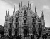 Milan Cathedral black & white fine art photograph