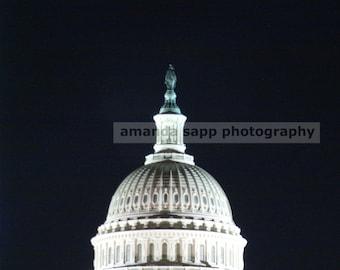 Washington Capitol color photograph