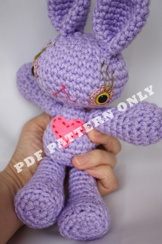 Etsy Amigurumi Bunny : Items similar to Bunny Amigurumi, Easter Bunny, Rabbit ...