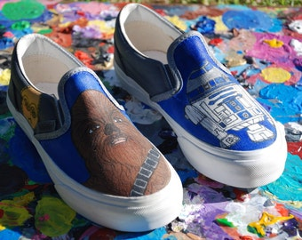 SOLD  OUT Custom Star Wars Vans (Youth)