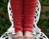Large Hot Pink Leg Warmers