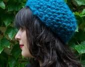 Bright Blue MTM Hat (alpaca)