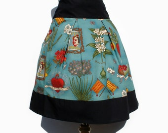 Frida Mexican  Inspired Skirt