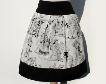 Plus Size Skirt Custom Measurements XL 2XL   Made to Measure Skirt Choose your Fabric