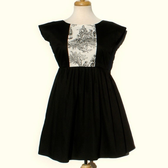 Day of the Dead dress / Dia de los Muertos Vintage Inspired  Mini Skull Dress