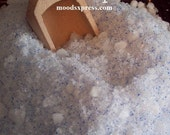 MoodsXpress Sandalwood Bath Salts with Blue Jojoba Beads