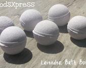MoodsXpress Lavender Bath Bombs