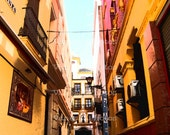 Sevilla, Spain - The Streets of Spain 3, 5x7 Image w\/ 8x10 Mat