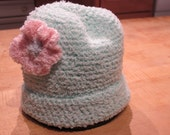 Hand crochet toddler hat