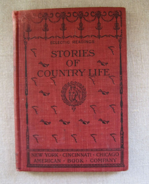 Stories of Country Life by Sarah Powers Bradish Rare Antique School Reader Children Book
