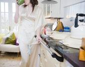 Mistress Kimono Collection - Silk Pyjama Trousers, wedding, bride, anniversary, pajamas