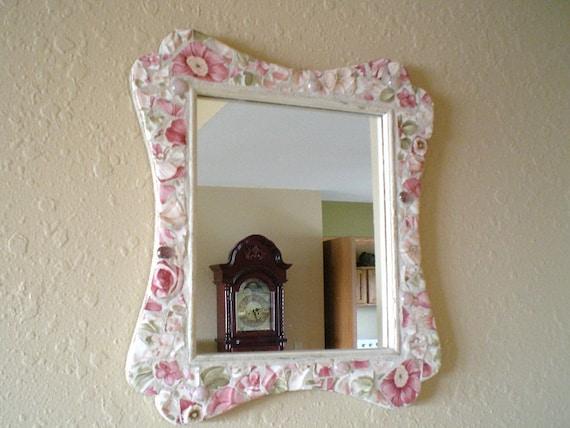 Shabby Chic Mosaic Mirror