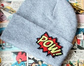 Unisex Beanie Hat, POW, Knitted, Various Colours