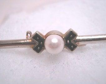 Antique 1920s, silver brooch, estate, art deco silver, Great Gatsby, Downton Abbey