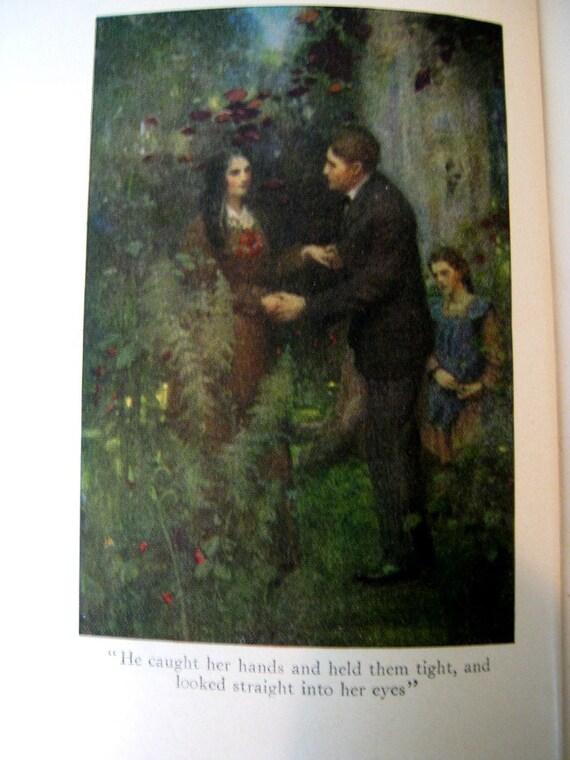 Vintage 1913 book, Laddie, a True Blue Story, Gene Stratton-Porter