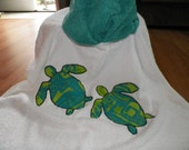 Sea Turtles Hooded Towel