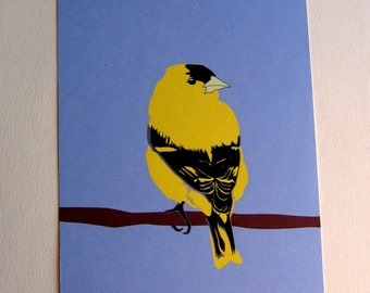 Goldfinch 5x7