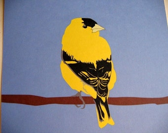 Goldfinch 8x10