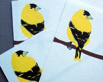 Goldfinch Note Cards