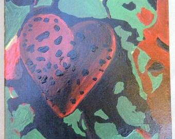 """Canvas Painting Album Art """"Last Splash"""" Breeders Tribute"""