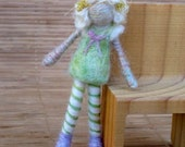 Needle Felted Angel Cake, Original design by Borbala Arvai, Made to order