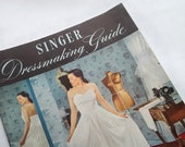 Singer Dressmaking Guide // vintage sewing book from 1940s // classic sewing techniques // very good condition