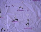 Heather Ross - Munki Munki - Yoga - 1 Leg Panel L
