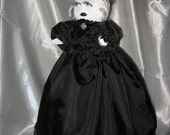 Ooak Primitive Lady of The Manor Ghost  Doll Tmap 4SHG