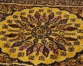 Vintage Multi Color Oriental Tapestry Rug