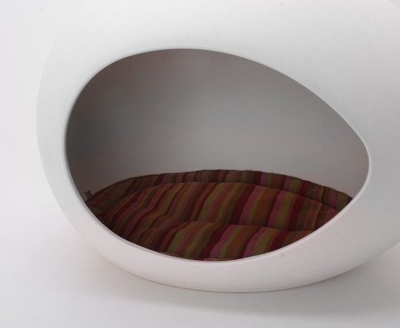 Designer Cushion for pEi Pod Pet Bed (Watermelon Stripe)