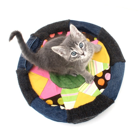 Purrocco One Of A Kind Moroccan Inspired Cat Bed By