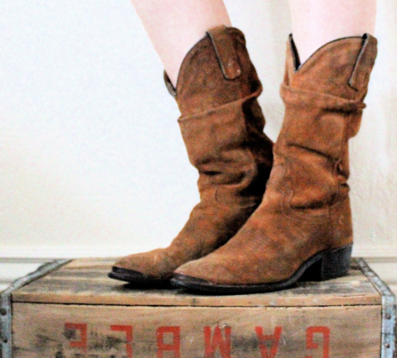 Slouch Cowboy Boots