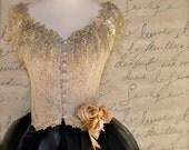 Victorian Ballerina Bodice. Ballet of the romantic age.