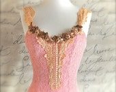 At the Ballet...The Rose Adagio. Ballerina Rose flower trimmed bodice. Only one left.