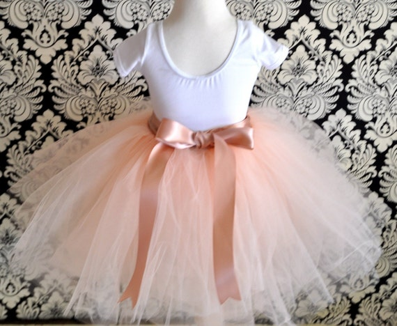 Vintage  pink 8 super fluffy sewn tutu with ribboned waist. First tutu, flower girls or a special birthday.