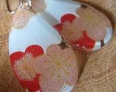 The Flower Called Nowhere - Cherry Blossom Earrings