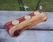 Rustic Eastern Red Cedar Candle Holder