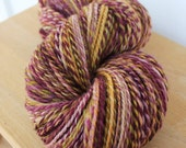REDUCED Sour Fruit- Hand Dyed, 2 ply Worsted Weight Handspun Yarn 330 yards