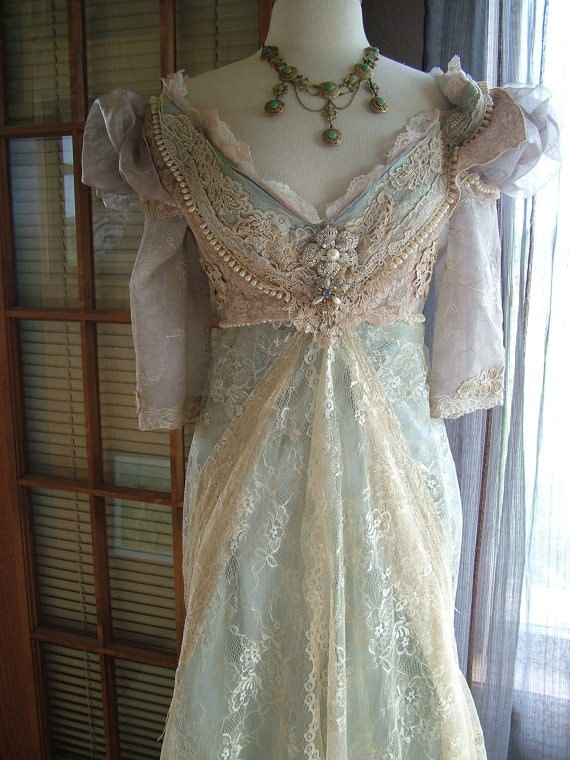 cinderella breathe ever after wedding dress by verytreschic