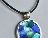 Ocean - Sea Glass Pendant