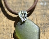 Forbidden Fruit - Sea Glass Pendant