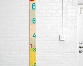 Measure Me Stick - modern growth chart