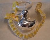 Baby Chain RATTLE-Willow Yellow