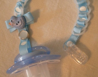 Baby Chain SOOTHER-Baby Blue